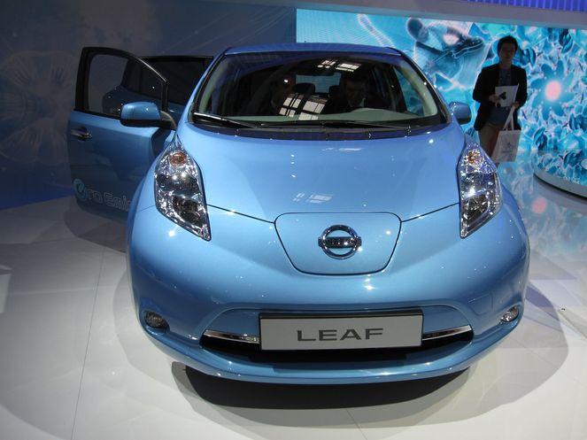 Nissan Leaf, priorité à l'électrique