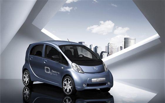 Peugeot iOn, la voiture 100% électrique