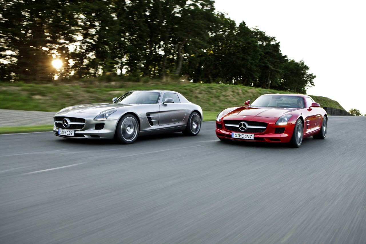 Mercedes sls-AMG, une étoile sortie de nulle part