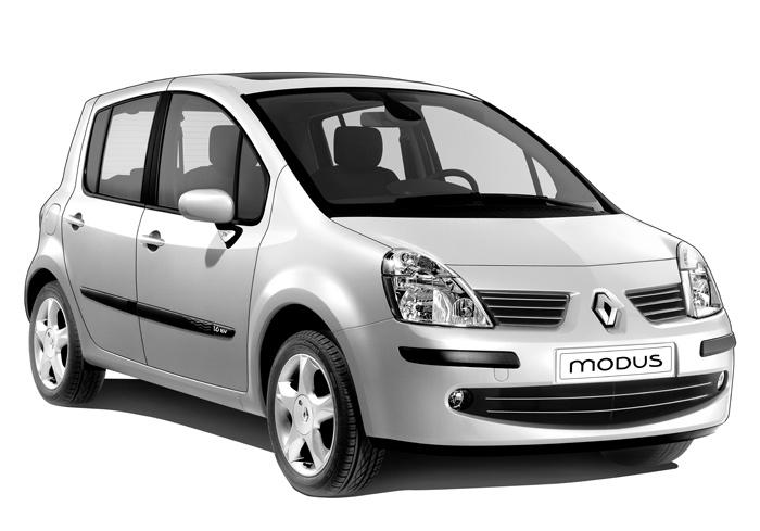 La Renault Modus, urbaine par excellence