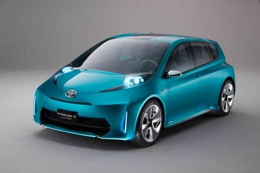 Nouvelle Prius C de Toyota