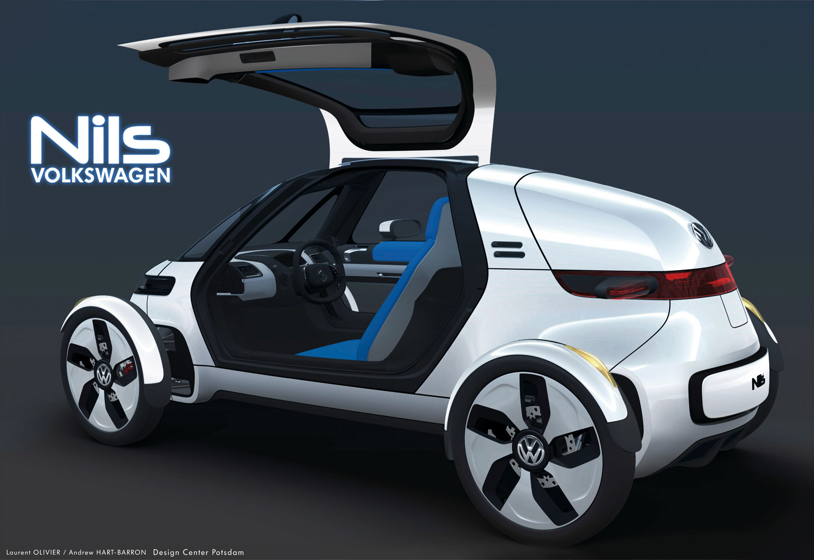 La volkswagen nils concept