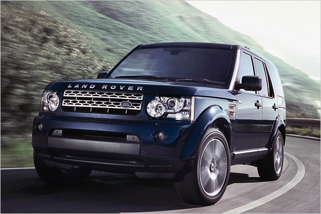 land rover discovery, en expédition humanitaire