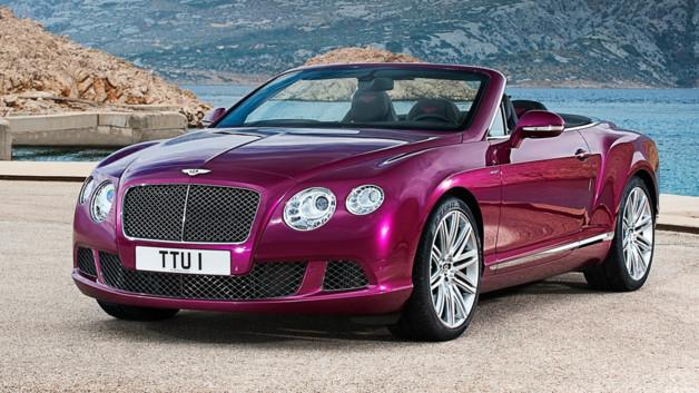 La Bentley Continental GT Cabriolet dévoilée dans 10 jours