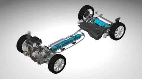 PSA travaille sur une hybride à air comprimé