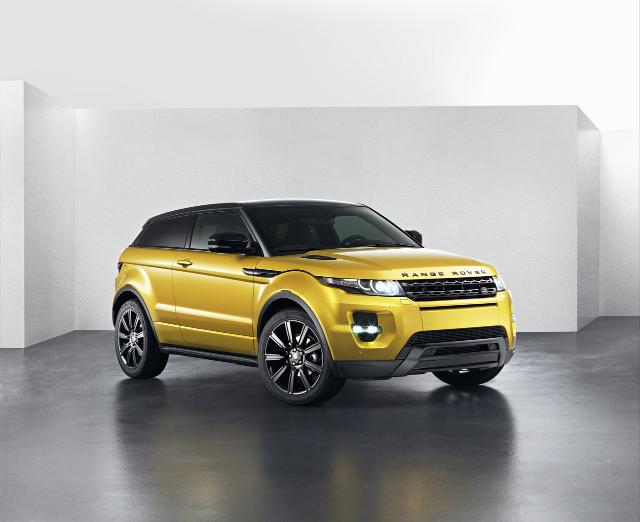 Range Rover Evoque Sicilian Yellow en mai prochain