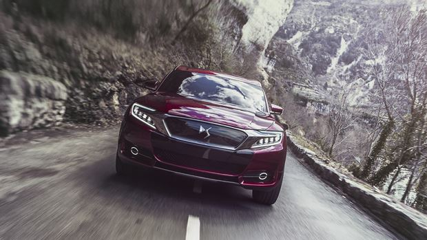 Citroën DS Wild Rubis : un crossover luxe pour la Chine