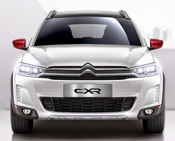 Voici le nouveau concept-car Citroën C-XR