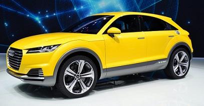 L'Audi TT Offroad pour 2015 ?