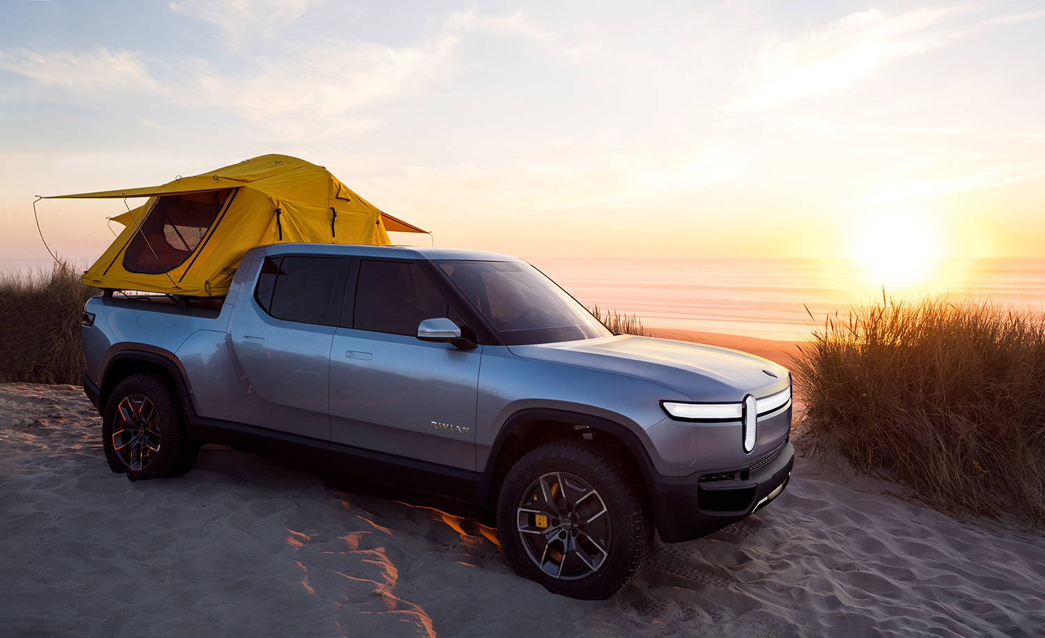 Rivian R1T, premier pick-up électrique