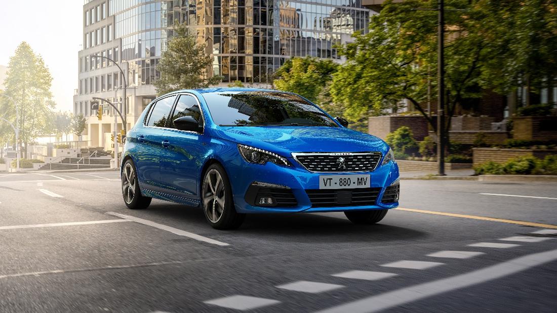 Une Peugeot 308 restylée pour 2020