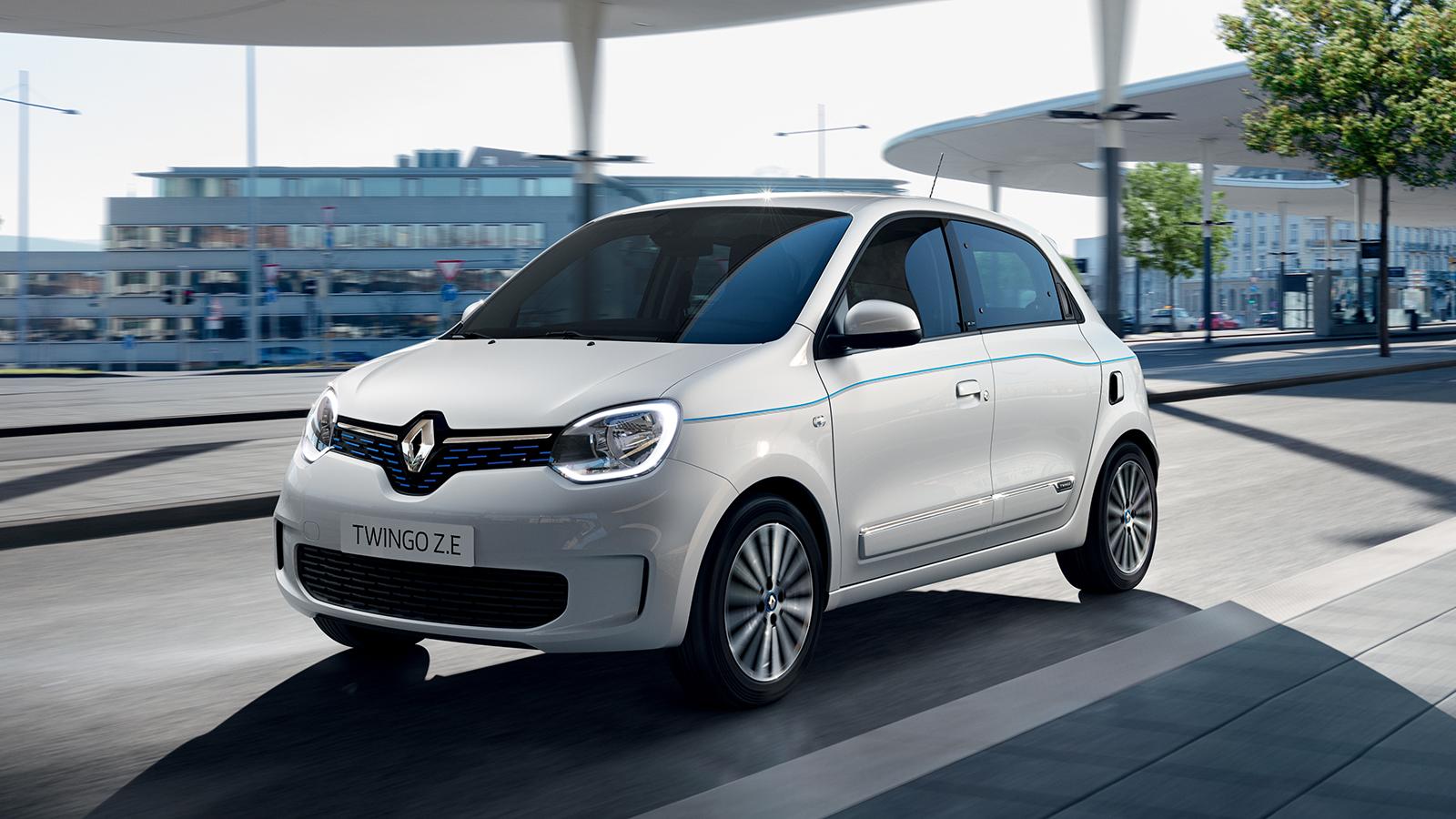 Un prix pour la Renault Twingo Electric