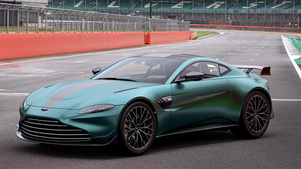 Voici l'Aston Martin Vantage F1 Edition